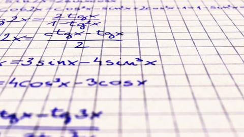 Science Mathematics 8 Stock Video Footage