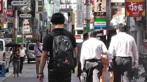 Tokyo Shibuya Japan 16 Stock Video Footage