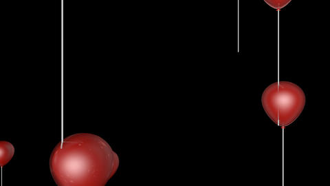 red balloon transition Animation