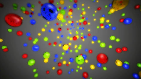 happy new year colorful Stock Video Footage