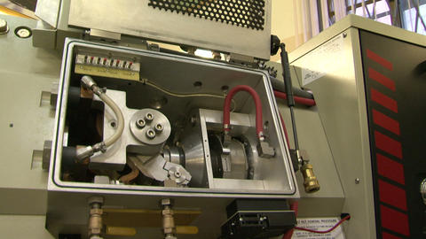 The compressor in the laboratory Footage