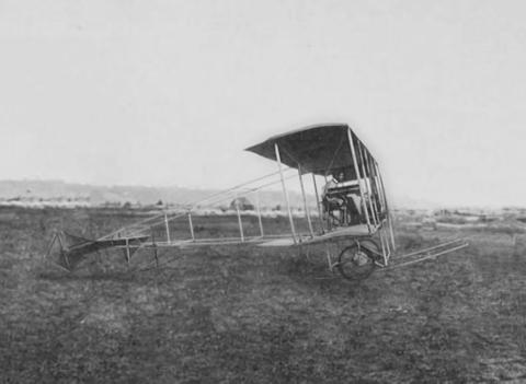 The First Aircraft, A Newsreel stock footage