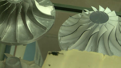 Impeller for turbine Footage