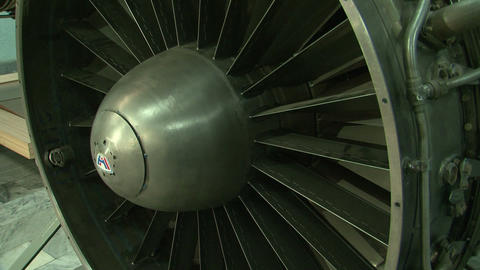 Jet Engine aircraft Stock Video Footage