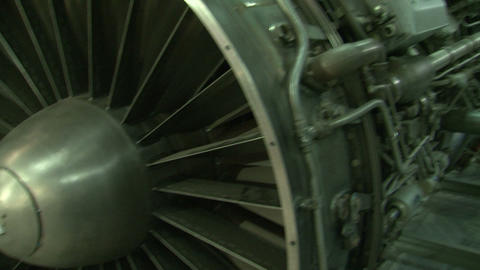 Jet Engine aircraft Stock Video Footage