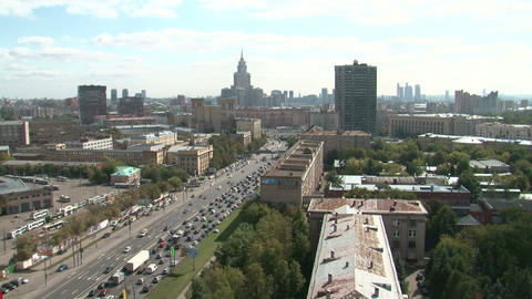 Moscow city Footage