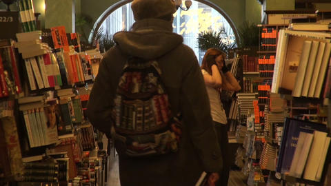 book shop Footage