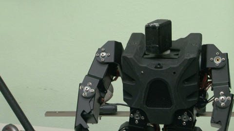 Robot toy Stock Video Footage