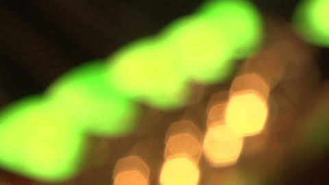Green lamp Stock Video Footage