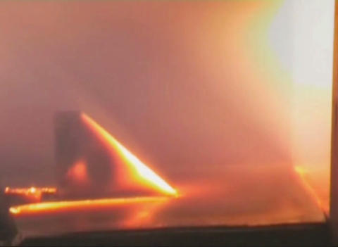 Hot Metal In The Fiery Jet stock footage
