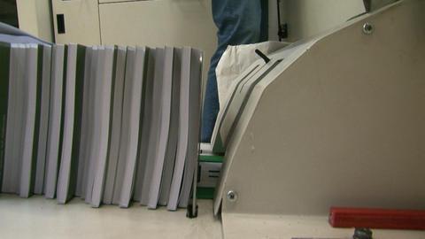 Printing machine Footage