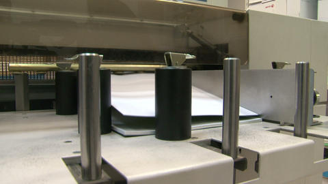 Printing machine Stock Video Footage