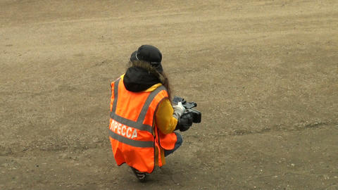 The operator of the camera Footage