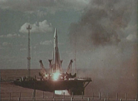 Ballistic missile Stock Video Footage