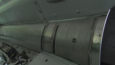 Ballistic missile Stock Video Footage