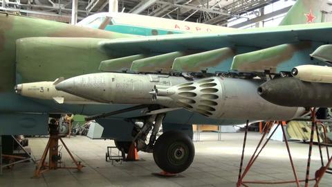 Armament combat aircraft Stock Video Footage