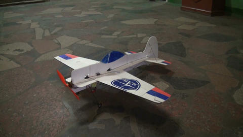 Radio-controlled model aircraft Footage
