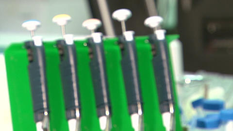Plastic Syringes stock footage