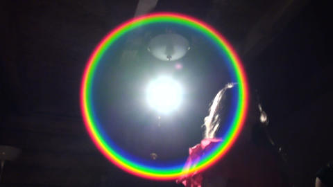 The spotlight Stock Video Footage