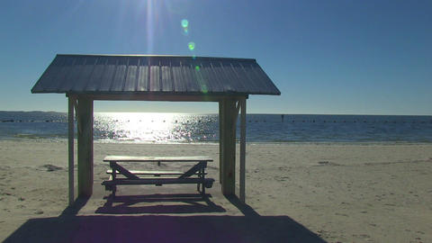 18 Picnictable Florida LEFT HD stock footage