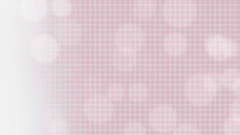 Particles Bokeh on Pink Background Loop Animation