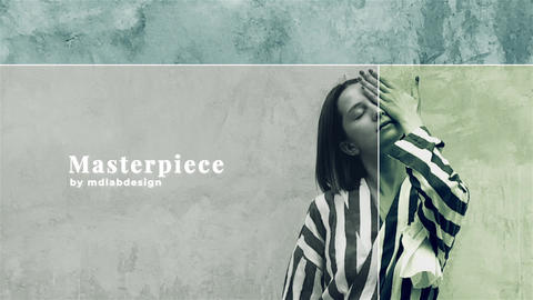Monochrome Slideshow After Effects Template