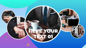 Trendy Corporate Presentation After Effects Template