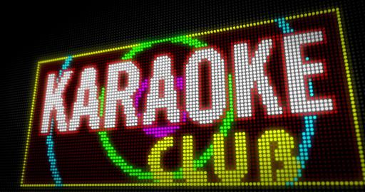 Karaoke club Animation