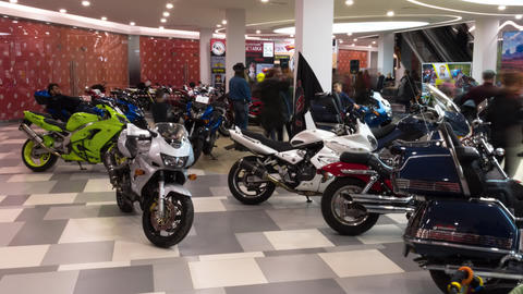 Lipetsk, Russian Federation - Jan 13, 2018: Exhibition of Old vintage Live Action