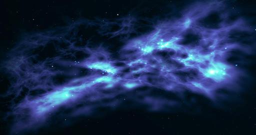 Galaxy birth of stars animation Animation