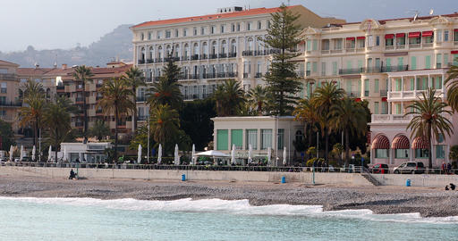Properties By The Sea On The French Riviera Footage