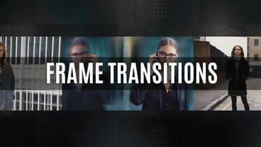 Frame Transitions Premiere Pro Template