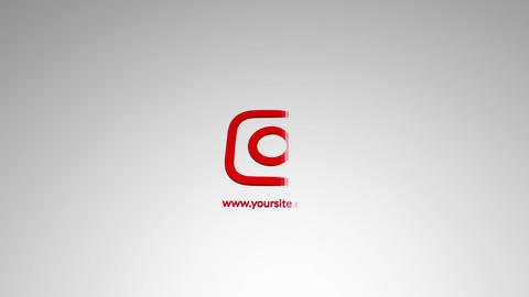 Rising 3D Logo After Effects Template