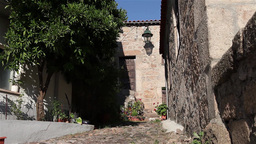 Jewish stone house in Belmonte Footage