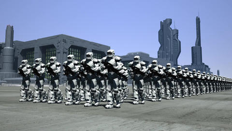 Space Opera: Marching Troopers Animation