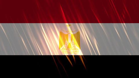Egypt Flag Loopable Background Animation