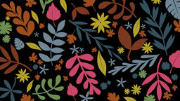 Floral Background (1) Animation