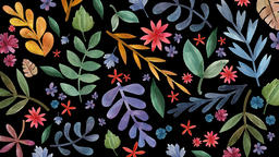 Floral Background (2) Animation