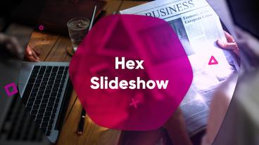 Hex Slideshow Premiere Proテンプレート