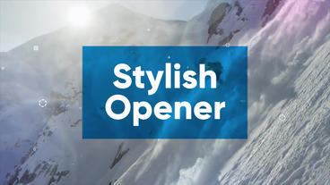 Stylish Opener Premiere Proテンプレート