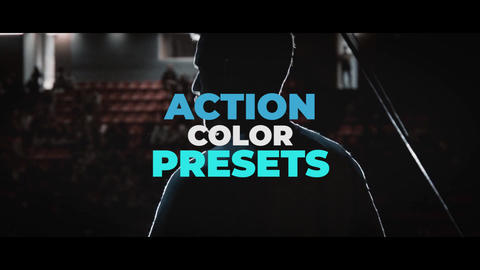 Action Color Presets Premiere Pro Template