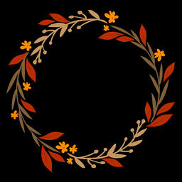 Floral Wreath (3) Animation
