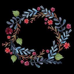 Floral Wreath (8) Animation