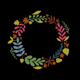 Floral Wreath (9) Animation