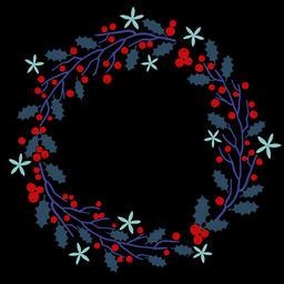 Floral Wreath (11) Animation