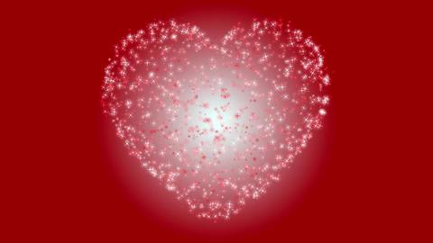 Sparkling hearts Animation