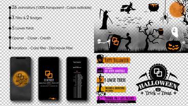 Halloween Kit 애프터 이펙트 템플릿
