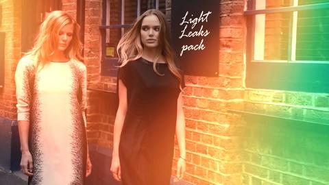 New Light Leaks Pack Premiere Pro Effect Preset