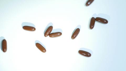pills drop_bright Footage