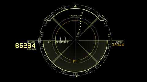 4k Radar GPS signal tech screen display,science sci-fi data computer navigation Footage